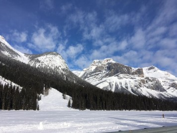 Honeymoon destination in Canada